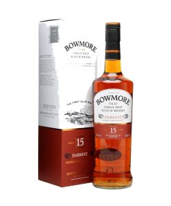Bowmore 15 Year Darkest Single Malt Scotch Whisky 247x296 - Bowmore 15 Year Darkest Single Malt Scotch Whisky