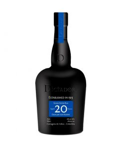 Dictador 20 Year Colombian Rum 1 247x296 - Dictador 20 Year Colombian Rum