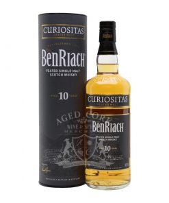BenRiach 10 Year Curiositas Peated Single Malt Scotch Whisky