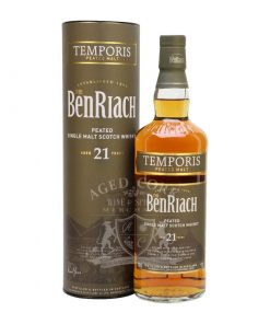BenRiach 21 Year Temporis Peated Single Malt Scotch Whisky