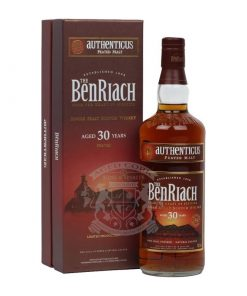 BenRiach 30 Year Authenticus Peated Single Malt Scotch Whisky