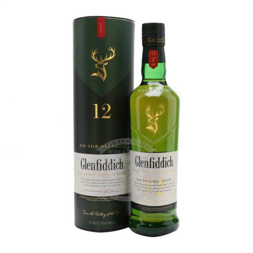 Glenfiddich 12 Year Single Malt Scotch Whisky