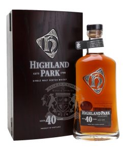 Highland Park 40 Year Single Malt Scotch Whisky