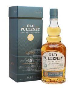 Old Pulteney 15 Year Single Malt Scotch Whisky