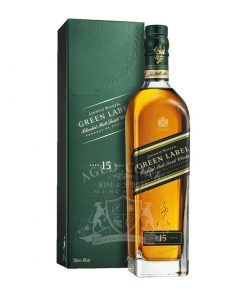 Johnnie Walker 15 Year Green Label Blended Malt Scotch Whisky