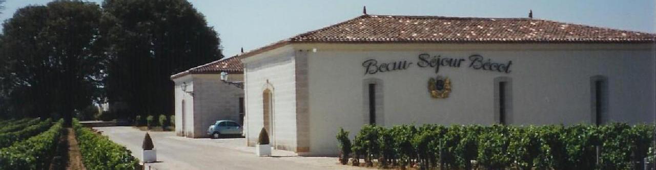 Chateau Beau Sejour Becot - Chateau Beau-Sejour Becot Saint-Emilion Premier Grand Cru 2017