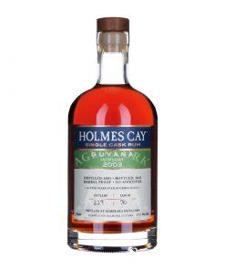 Holmes Cay Guyana Uitvlugt 2003 18 Year Single Cask Rum