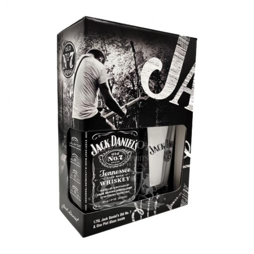 Jack Daniel's Sour Mash Old No. 7 Tennessee Whiskey Gift Set