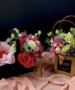 Medium Flower Wine Basket 1
