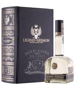 Legend Of Kremlin Vodka Book Gift Set