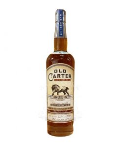 Old Carter 13 Year Straight American Whiskey Batch 6