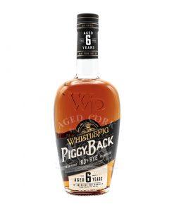 WhistlePig Piggyback 6 Year Straight Rye Whiskey